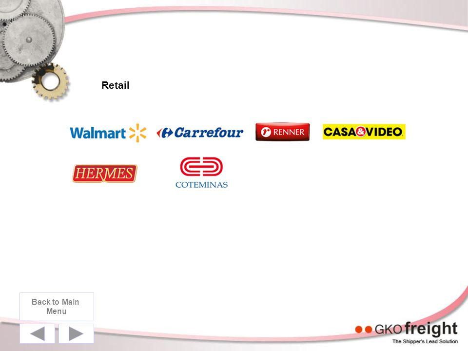Retail Back to Main Menu