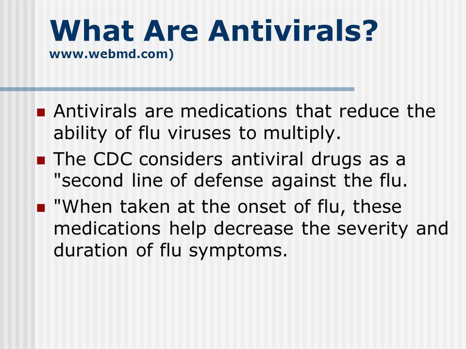 Medications 75% of antibiotics prescribed for respiratory tract infections 50% of antibiotic prescriptions are inappropriate Most respiratory tract infections are caused by viruses Antibiotics do not work against viruses