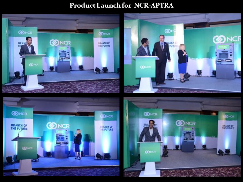 Product Launch for NCR-APTRA