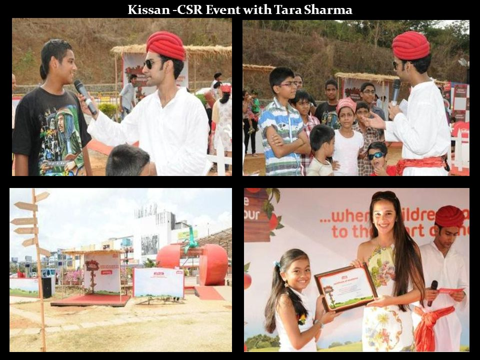 Kissan -CSR Event with Tara Sharma
