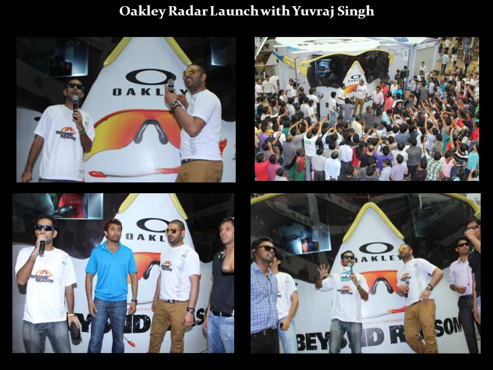 Oakley Radar Launch with Yuvraj Singh