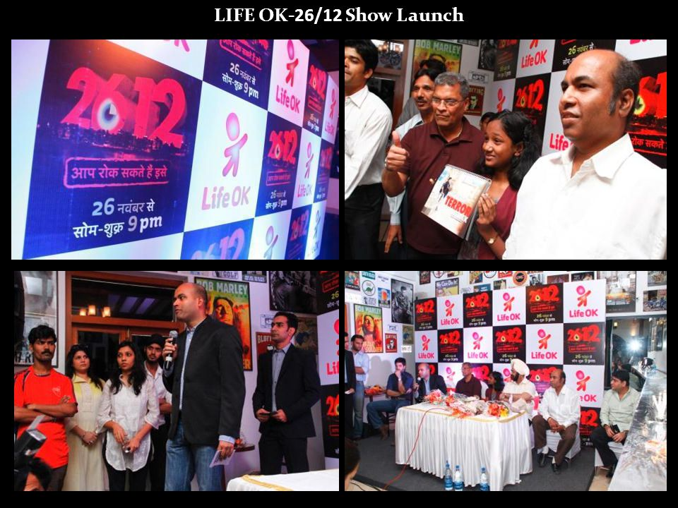 LIFE OK-26/12 Show Launch