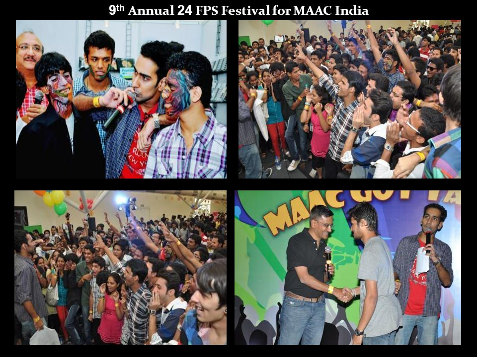 9 th Annual 24 FPS Festival for MAAC India