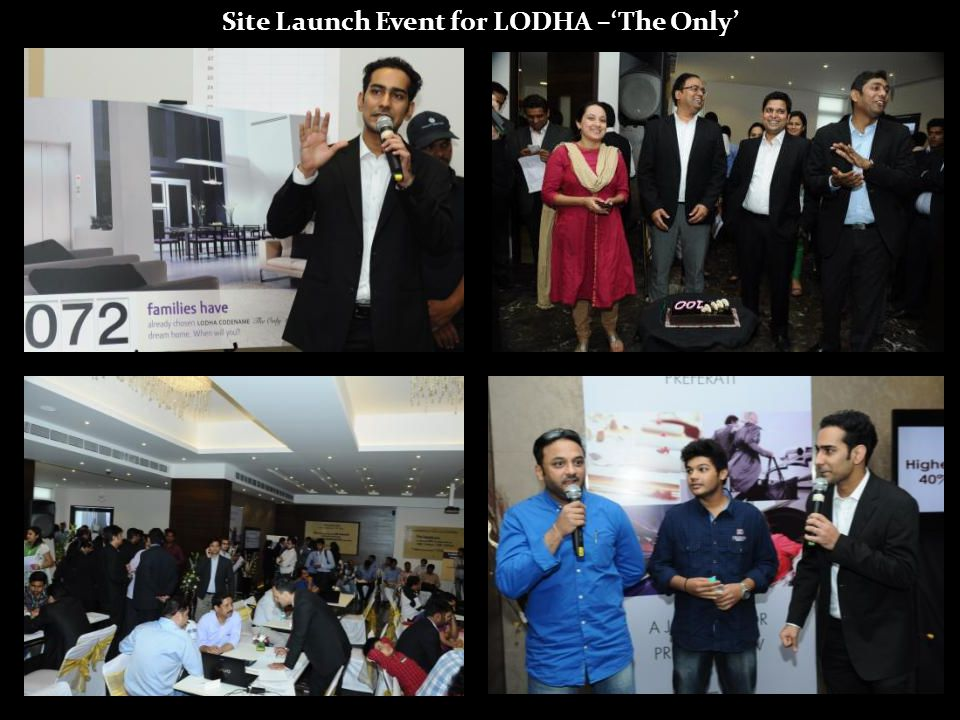 Site Launch Event for LODHA –The Only