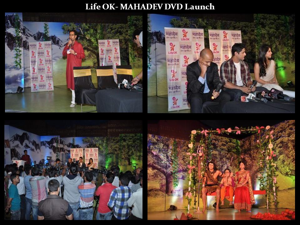 Life OK- MAHADEV DVD Launch