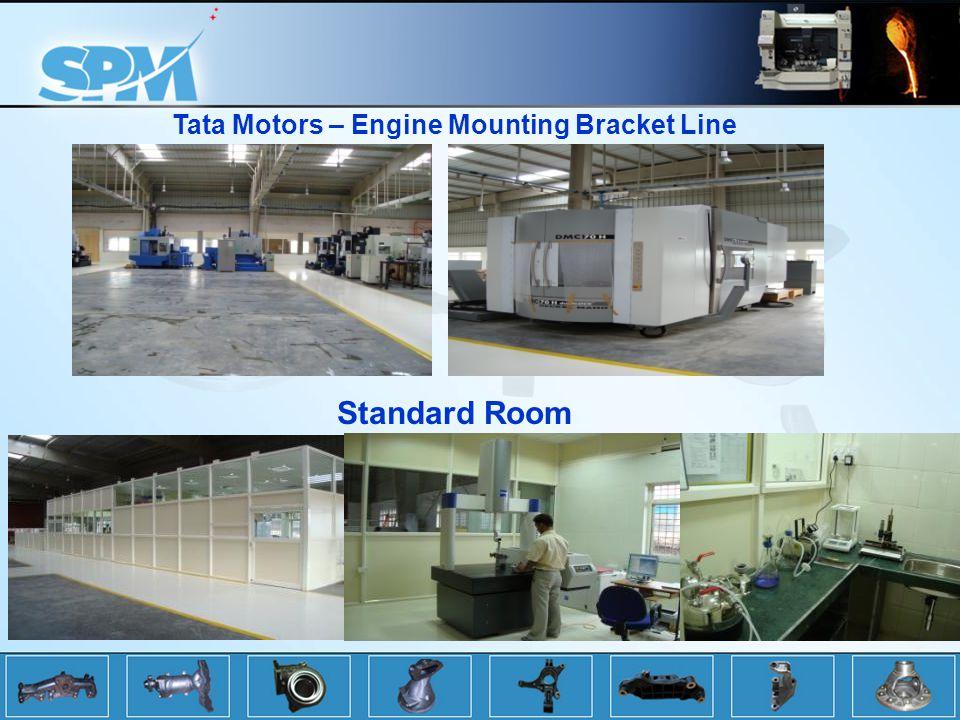 Tata Motors – Engine Mounting Bracket Line Standard Room