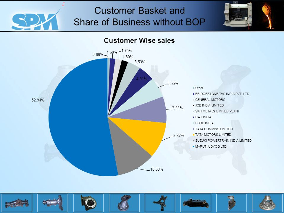 Customer Basket and Share of Business without BOP