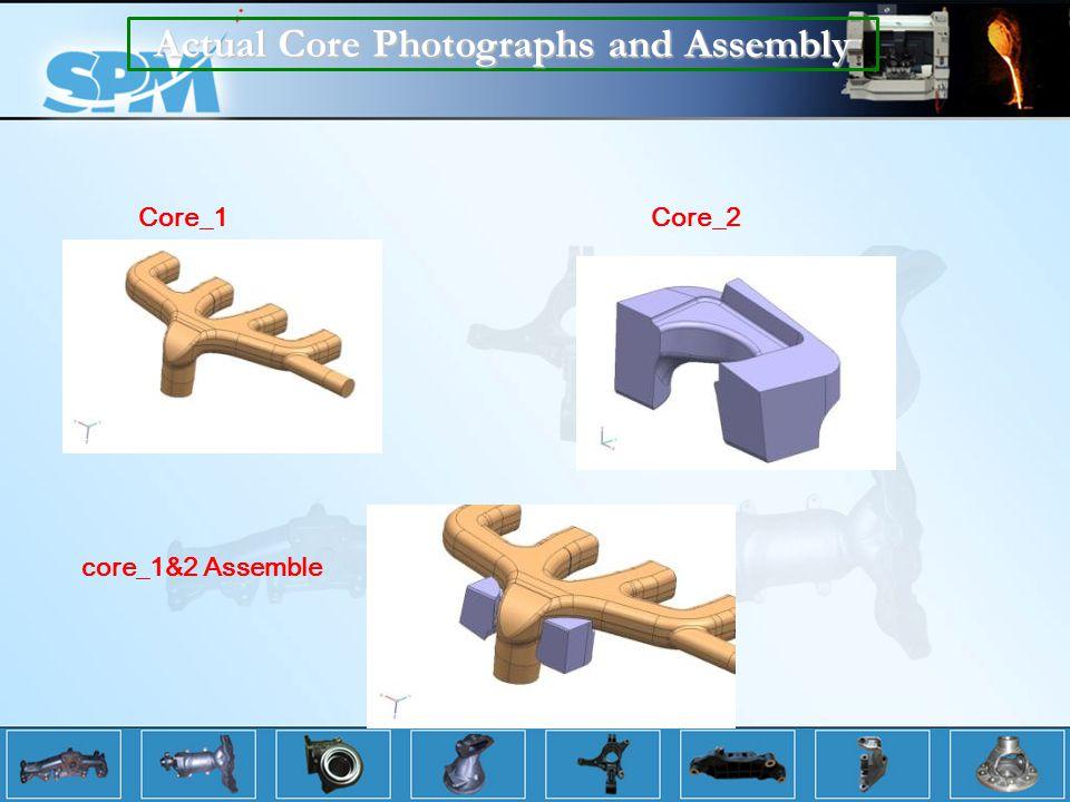 Actual Core Photographs and Assembly Core_1Core_2 core_1&2 Assemble