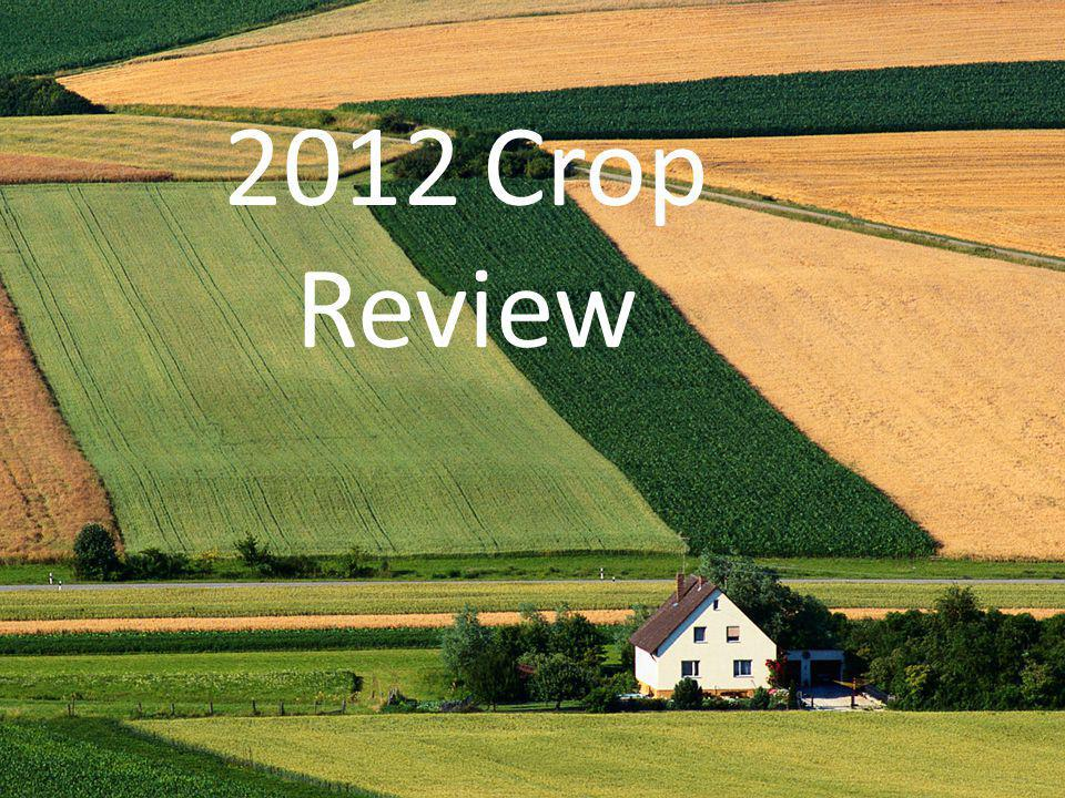 2012 Crop Review