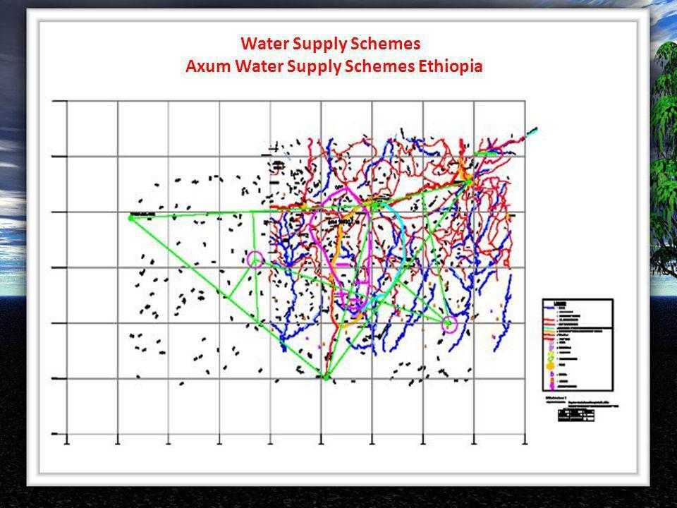 Water Supply Schemes Axum Water Supply Schemes Ethiopia