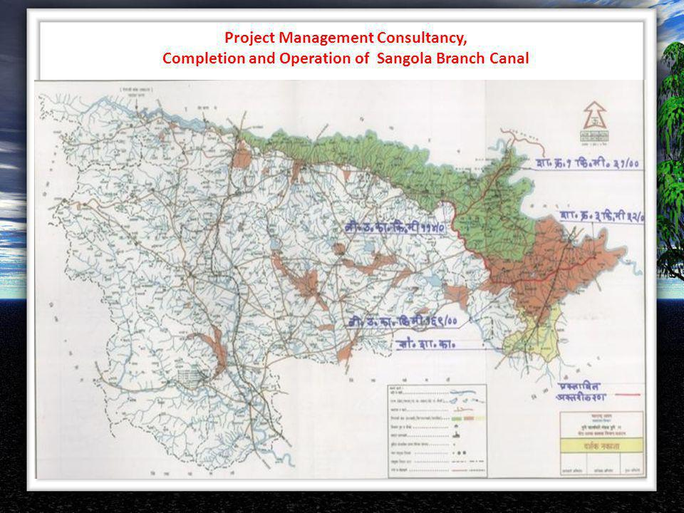 Project Management Consultancy, Completion and Operation of Sangola Branch Canal