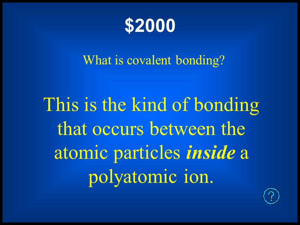This is how polyatomic ions achieve charge stability.