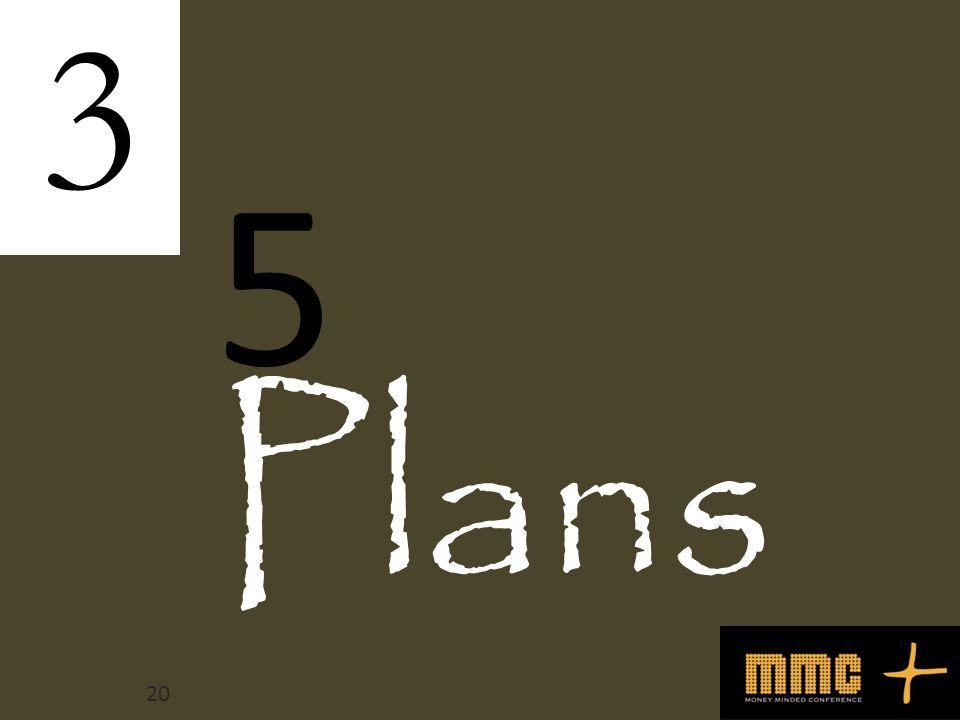 Plans 3 5 20