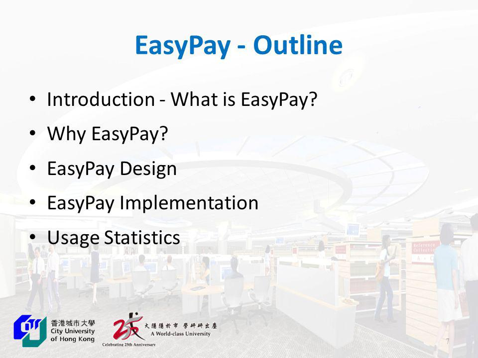 EasyRegister - Old Practice Drawbacks: Time lag User cannot access and view circulation account immediately Possible human error
