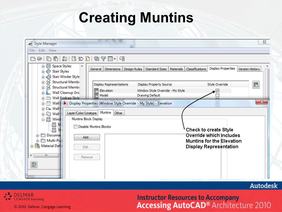 Creating Muntins