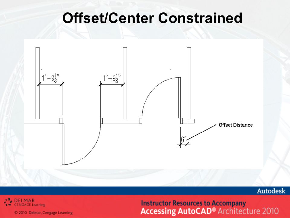 Offset/Center Constrained