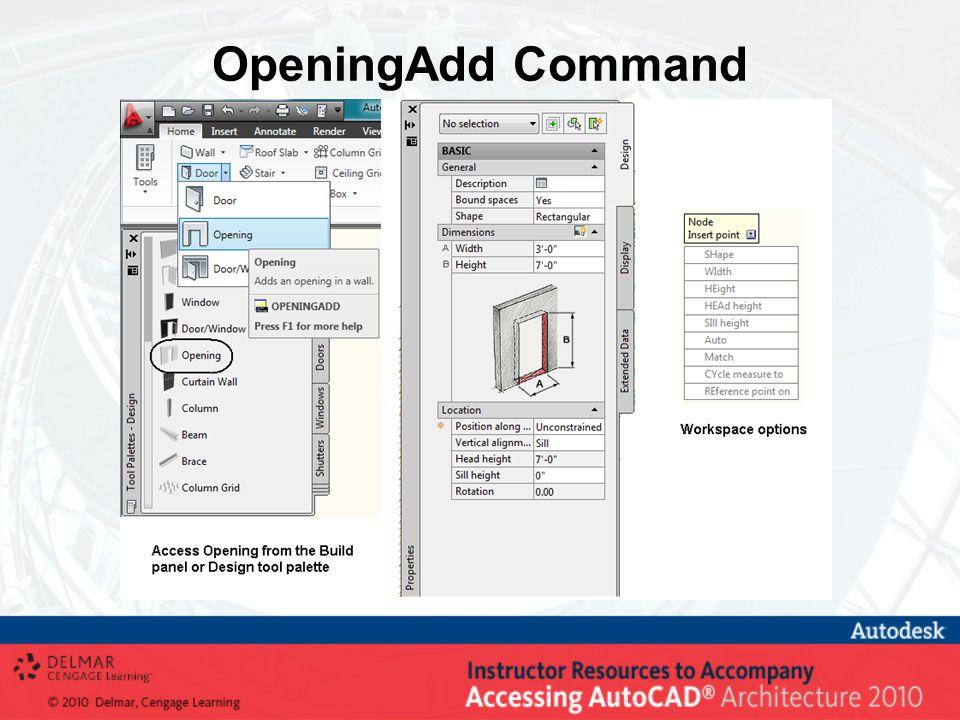 OpeningAdd Command