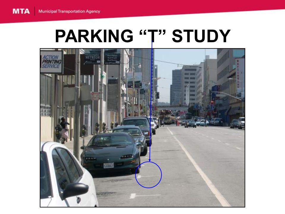 PARKING T STUDY