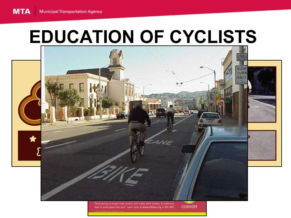EDUCATION OF CYCLISTS