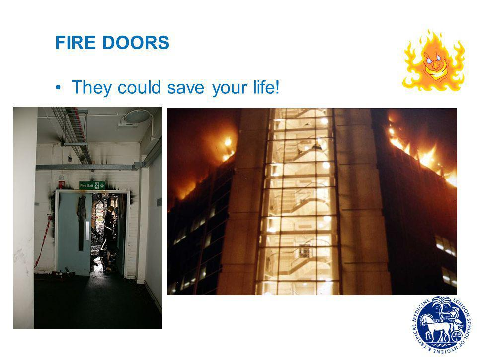 FIRE DOORS They could save your life!