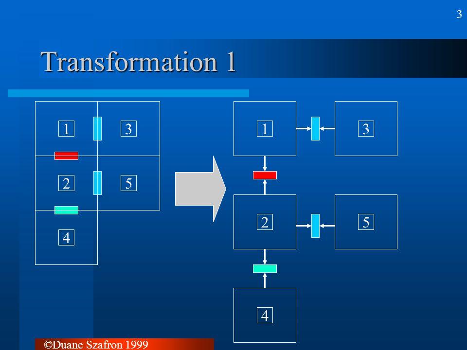 ©Duane Szafron 1999 4 Transformation 2 1234513254