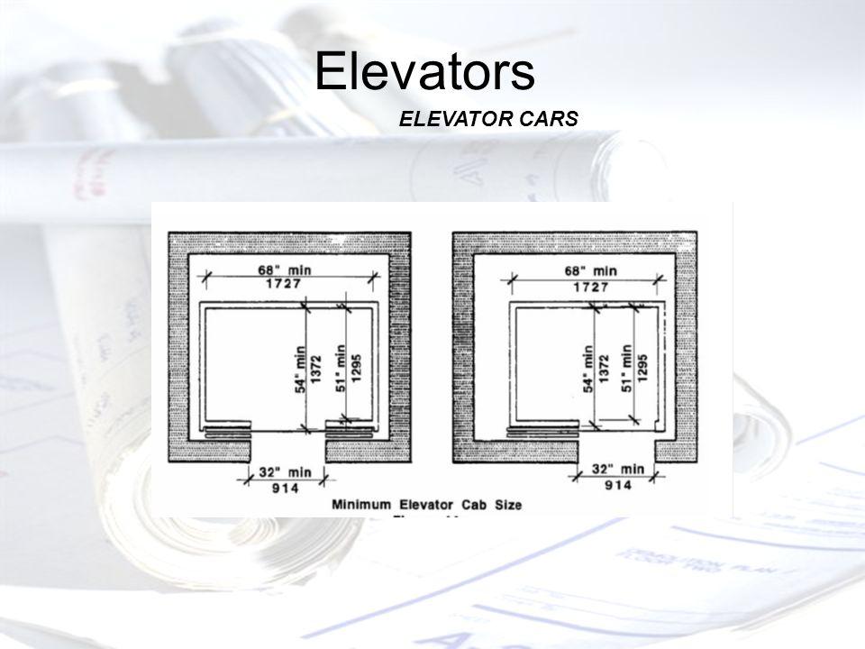 Elevators ELEVATOR CARS