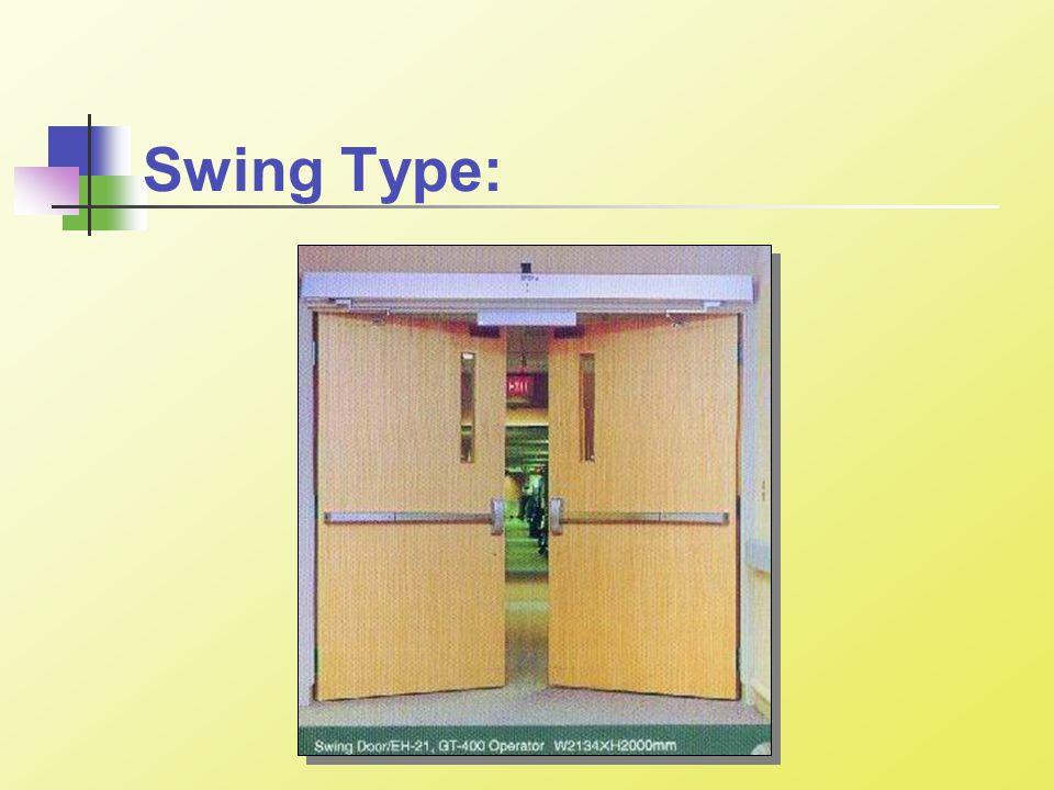 Swing Type: