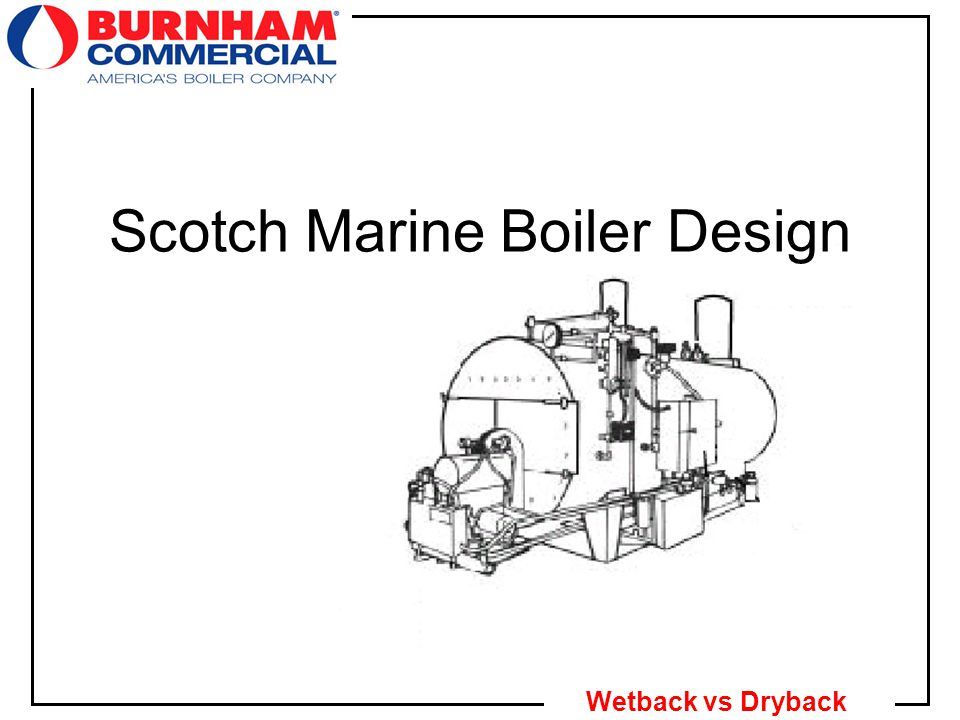 1 Wetback vs Dryback Scotch Marine Boiler Design