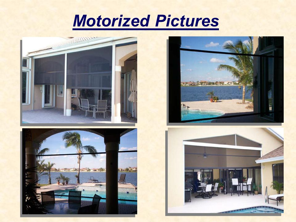 Motorized Pictures