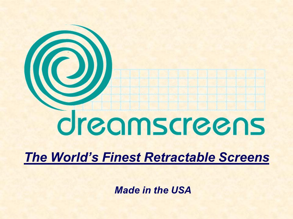 The Worlds Finest Retractable Screens Made in the USA