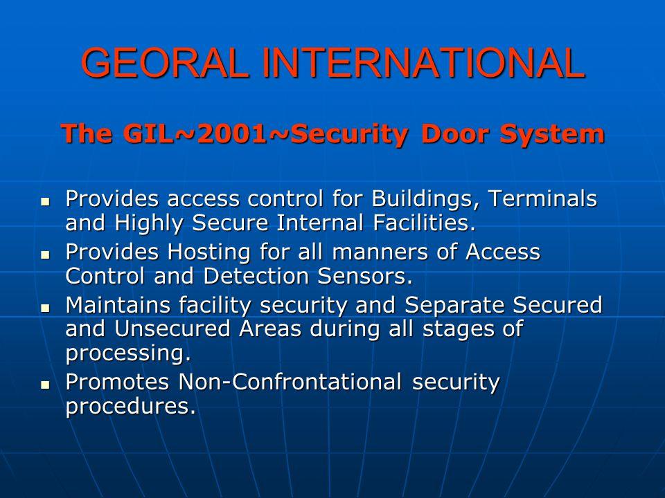 Georal Security Doors Provide increased security.Provide increased security.