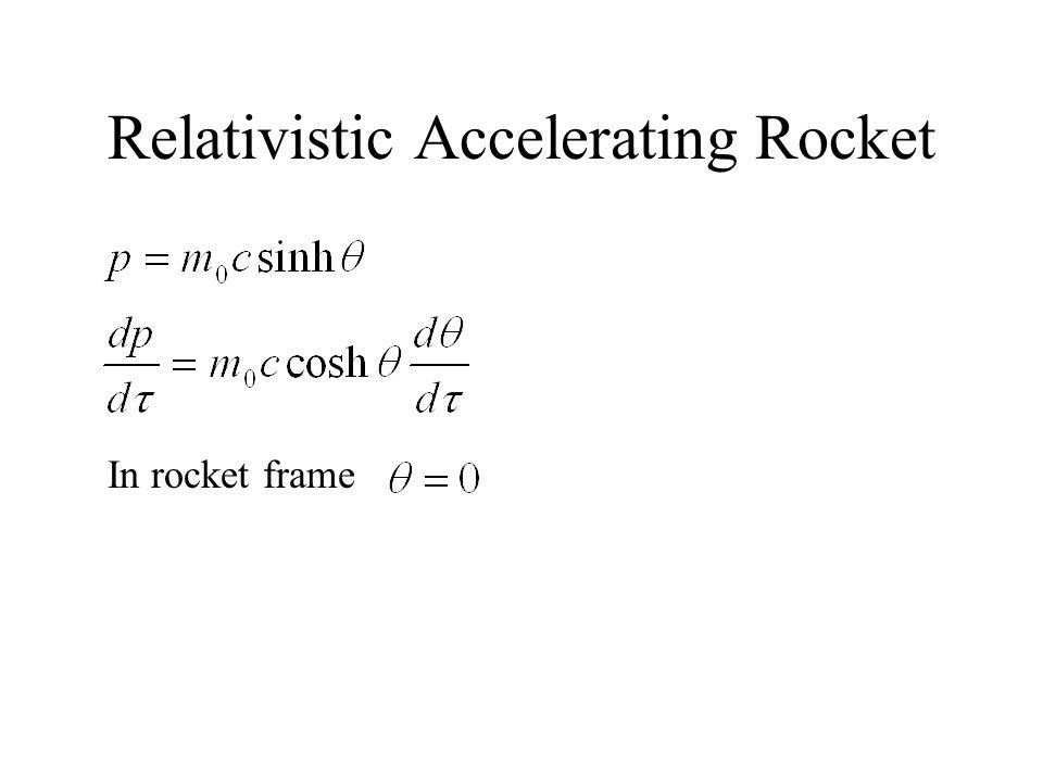 In rocket frame