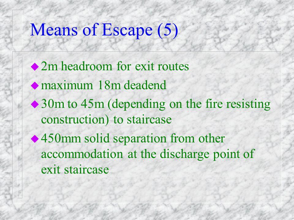 Means of Escape (4)