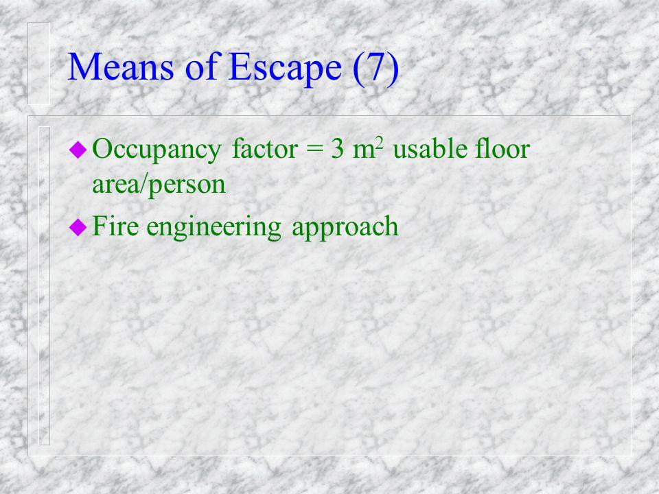 Means of Escape (6)