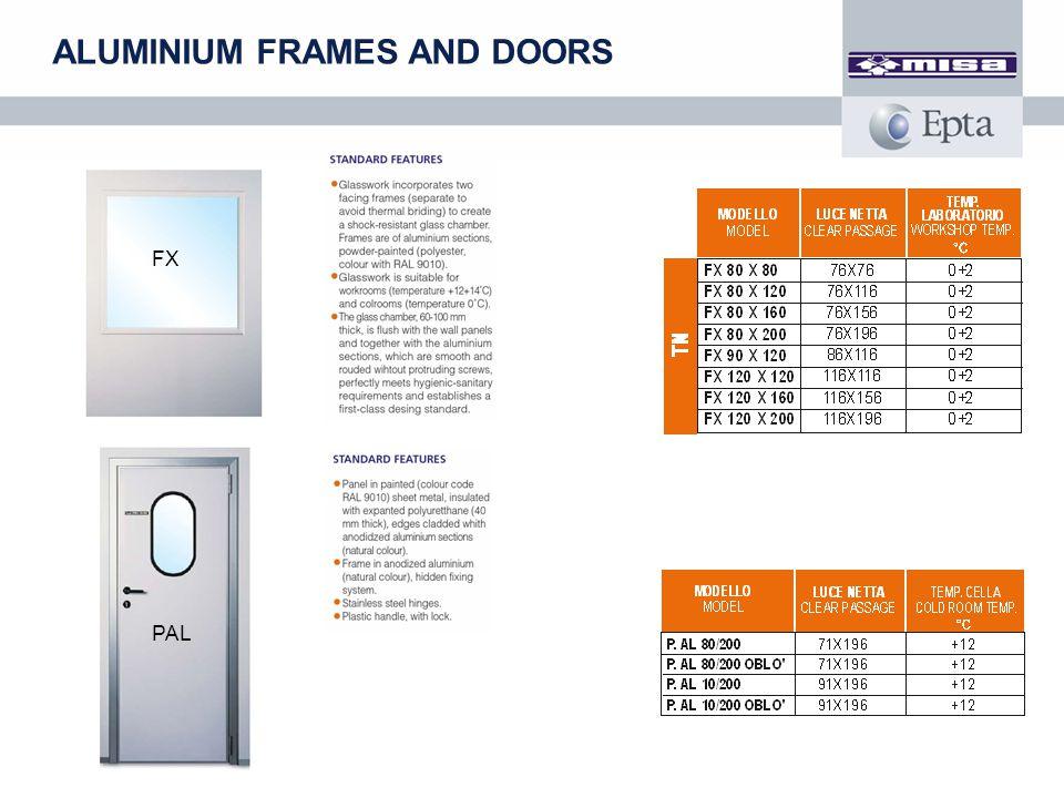 ALUMINIUM FRAMES AND DOORS FX PAL