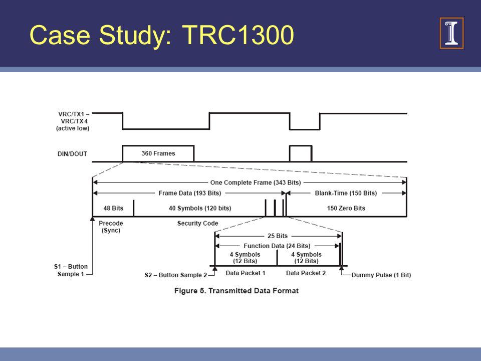 Case Study: TRC1300
