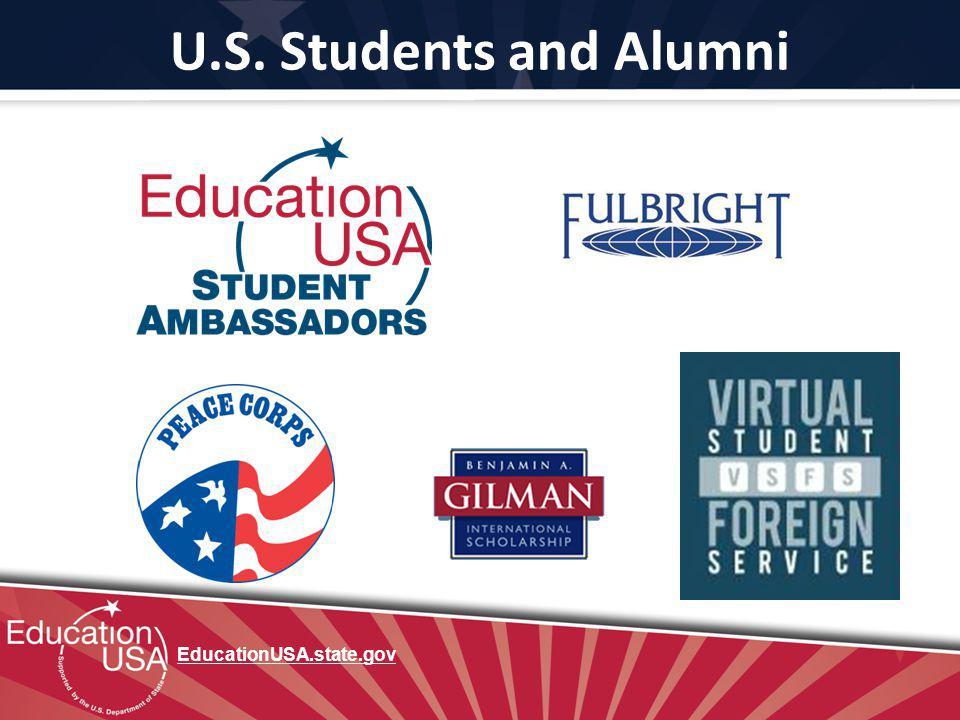 U.S. Students and Alumni EducationUSA.state.gov