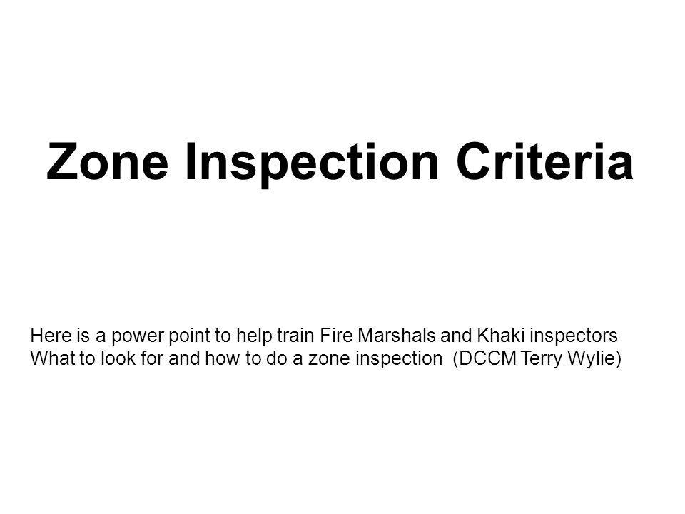General guidance for inspections lDoors, hatches and scuttles should routinely be inspected by DCPOs, work center supervisors and zone inspectors for: lObstructed access to escape scuttles.