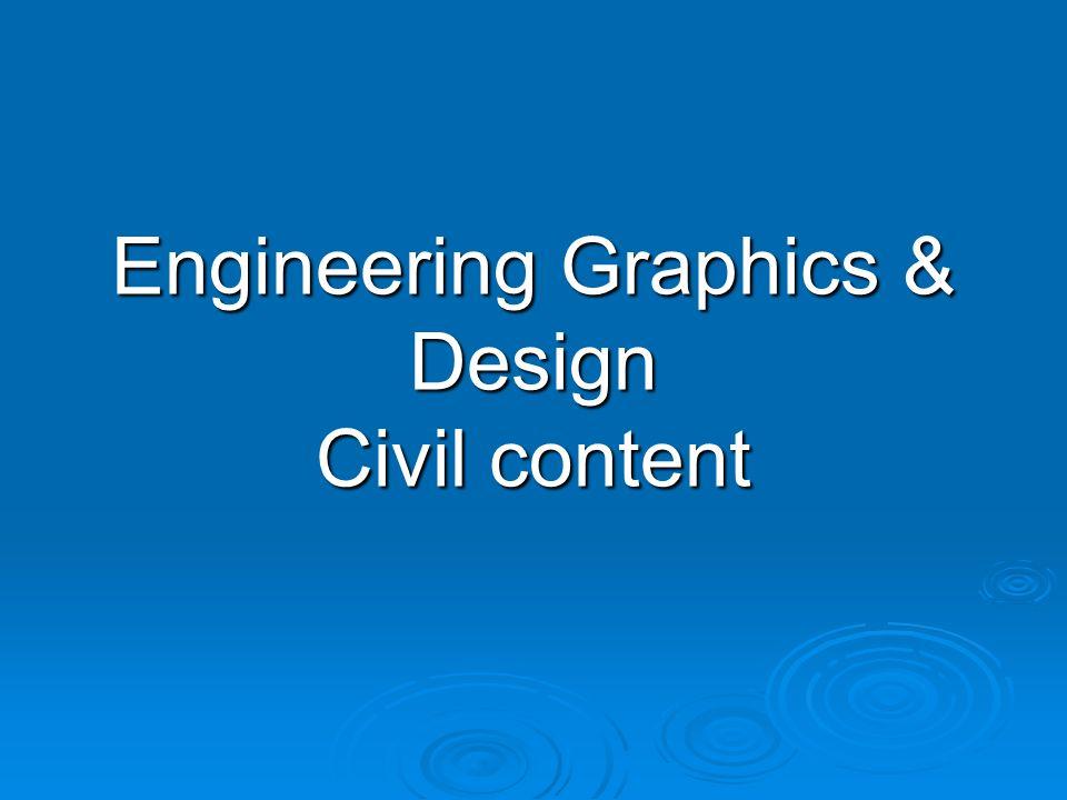 Engineering Graphics & Design Civil content