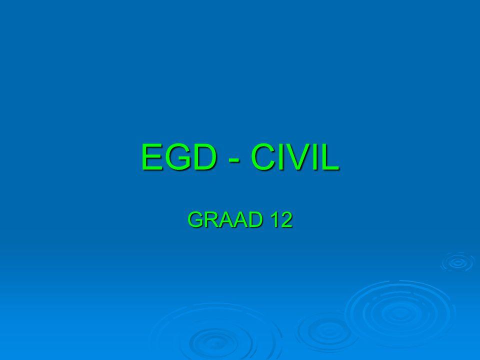EGD - CIVIL GRAAD 12