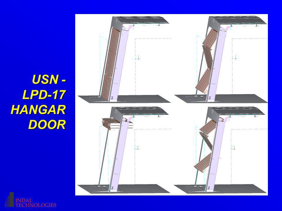 USN - LPD-17 HANGAR DOOR