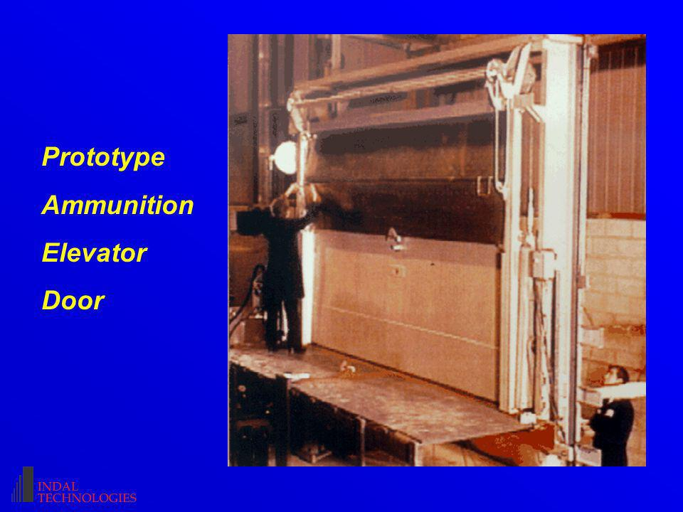 Prototype Ammunition Elevator Door