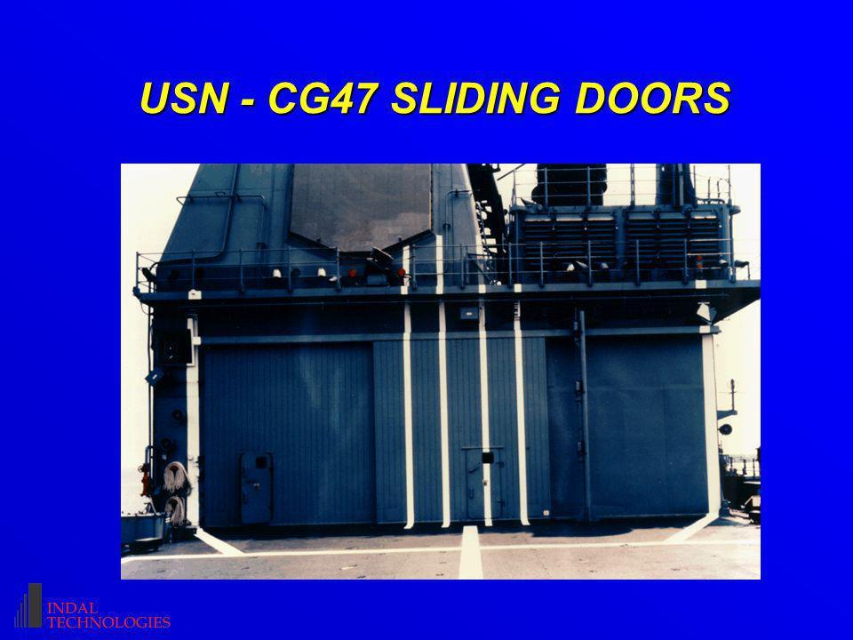 USN - CG47 SLIDING DOORS