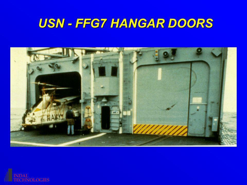 USN - FFG7 HANGAR DOORS