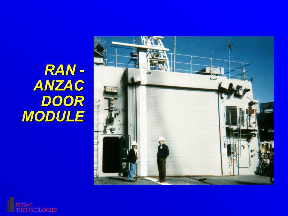 RAN - ANZAC DOOR MODULE