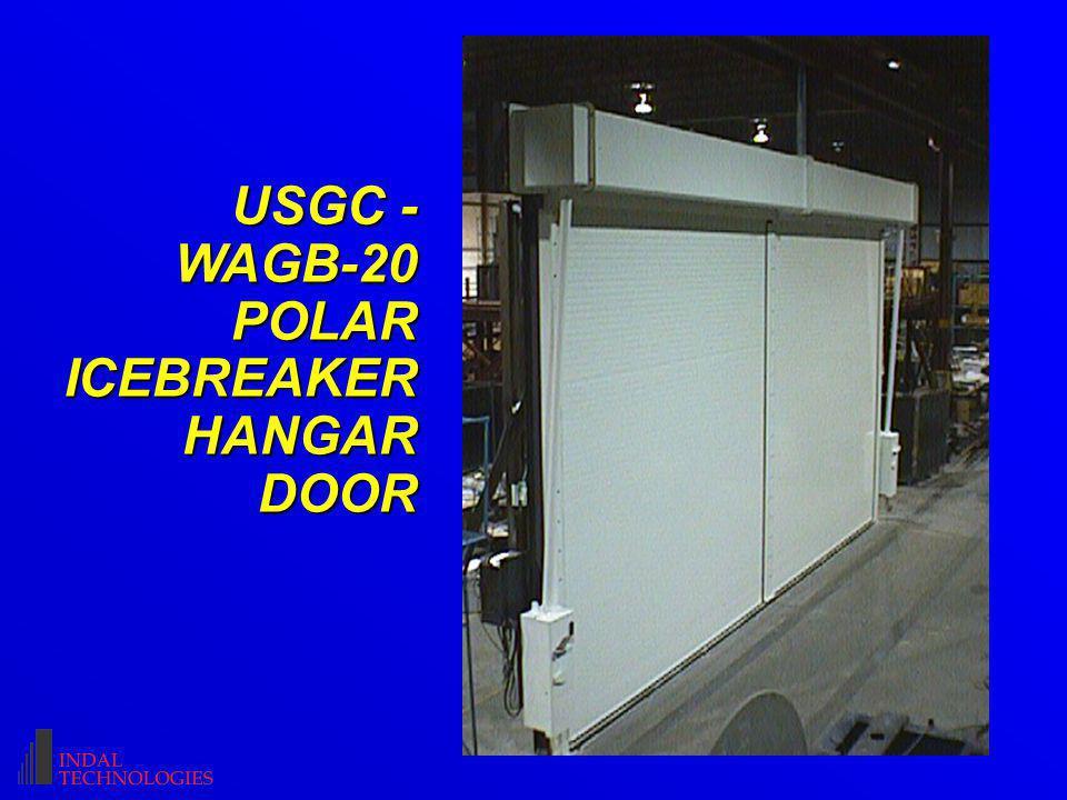 USGC - WAGB-20 POLAR ICEBREAKER HANGAR DOOR