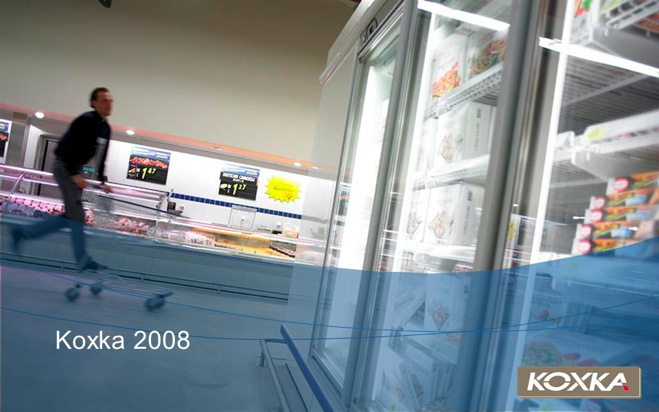 Our customers Our solutions About Koxka Green Solutions New products 2008 Euroshop 2008