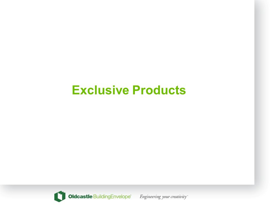 18 Exclusive Products