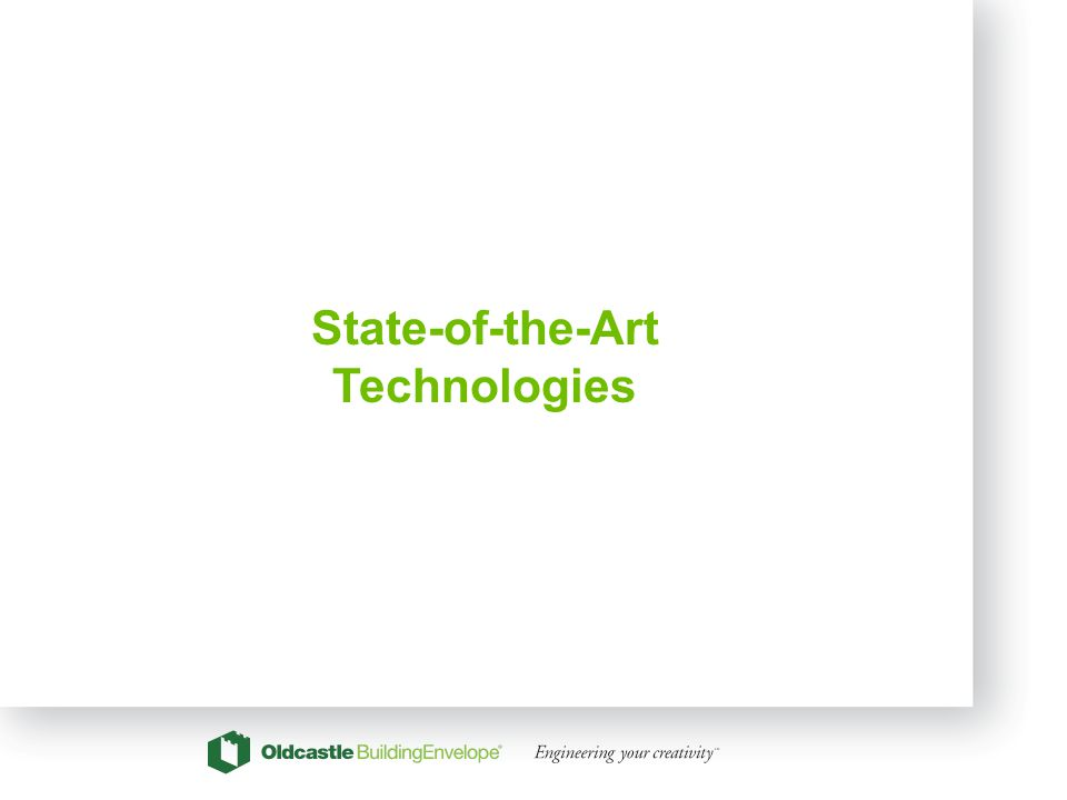 21 State-of-the-Art Technologies