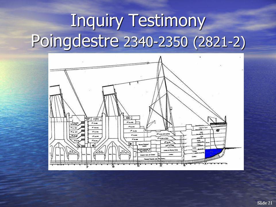 Slide 21 Inquiry Testimony Poingdestre 2340-2350 (2821-2)